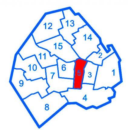 comuna-5-mapa