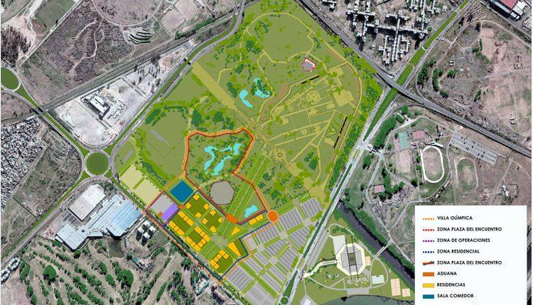 Resultado de imagen para El proyecto del Parque Olímpico, EN VILLA SOLDATI