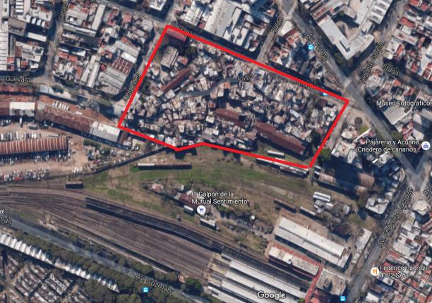 villa-la-fraga-mapa