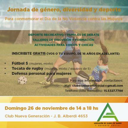 Jornada Genero y Deporte2