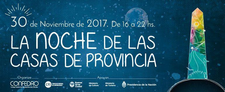 Noche de las Casas de las Provincias 2017