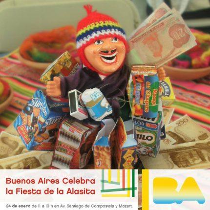 BA Celebra la fiesta de la Alasita 2018