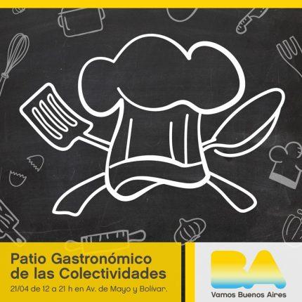 Patio Gastronómico de las Colectividades 2018