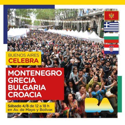 BA Celebra Montenegro, Grecia, Bulgaria y Croacia 2018