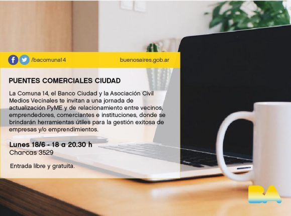 flyer banco ciudad