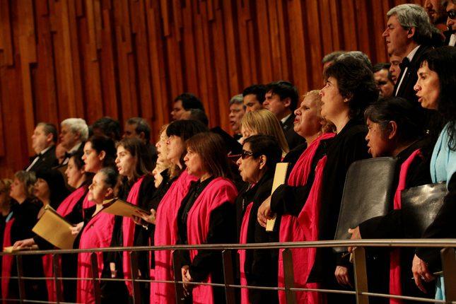 Coro Polifónico Nacional de Ciegos 1 baja